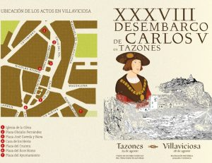 Desembarco Carlos V Villaviciosa @ villaviciosa